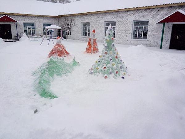 Снежный городок фото 1